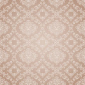 Seamless floral pattern. Vintage background — 图库矢量图片