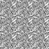 Seamless floral pattern. Vintage background — Stock Vector
