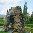 Fountain in Villa d'Este in Tivoli, Italy, Europe — Stock Photo #38481705