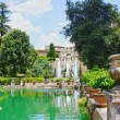 Fountain in Villa d'Este in Tivoli, Italy, Europe — Stock Photo #38481711