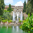 Fountain in Villa d'Este in Tivoli, Italy, Europe — 图库照片 #38481741