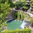 Stock Photo: Fountain in Villd'Este. Tivoli, Italy