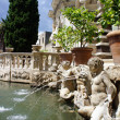 Detailed view of the Organ Fountain in Villa d'Este. Tivoli, Ita — Foto de Stock   #38482055