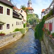 Stock Photo: Cesky Krumlov, Czech Republic, UNESCO World Heritage Site