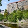 Stock Photo: Castle in Cesky Krumlov, Czech Republic, UNESCO World Heritage S