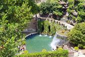 Fountain in Villa d'Este. Tivoli, Italy — Stock Photo