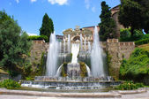 Villa d'Este in Tivoli, Italy, Europe — Stock Photo