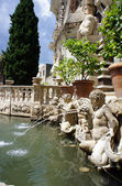 Detailed view of the Organ Fountain in Villa d'Este. Tivoli, Ita — Stock Photo