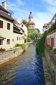 Cesky Krumlov, Czech Republic, UNESCO World Heritage Site — Stock Photo