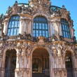 Stock Photo: Wall pavilion of the Zwinger - palace in Dresden, Germany.