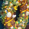 Easter egg wreath — Stock Photo #38543781