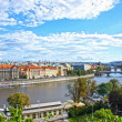 Stock Photo: View on Prague, Czech Republic