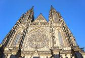 Cattedrale gotica di san vito a praga, repubblica ceca. — Foto Stock