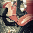 Stock Photo: Vintage Car - Classic Vehicles