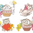 Cartoon cute cat — Vetorial Stock  #39643271