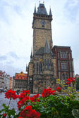 Astronomical Clock tower in old town Prague, Czech Republic — Stock Photo