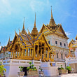 Temple in Grand Palace Emerald Buddha (Wat Phra Kaew), Bangkok, Thailand — Stock Photo #46518387