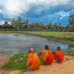 Sunset over Angkor Wat — Stock Photo #47331311