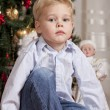 Boy at Christmas — Stock Photo #18573829