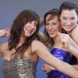 Women dancing at disco — Stock Photo #2082805