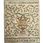 Постер, плакат: Vase ancient mosaics