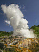 The power of the Giant Geyser (Velikan) — Stock Photo