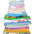 Pile of towels — Stock Photo