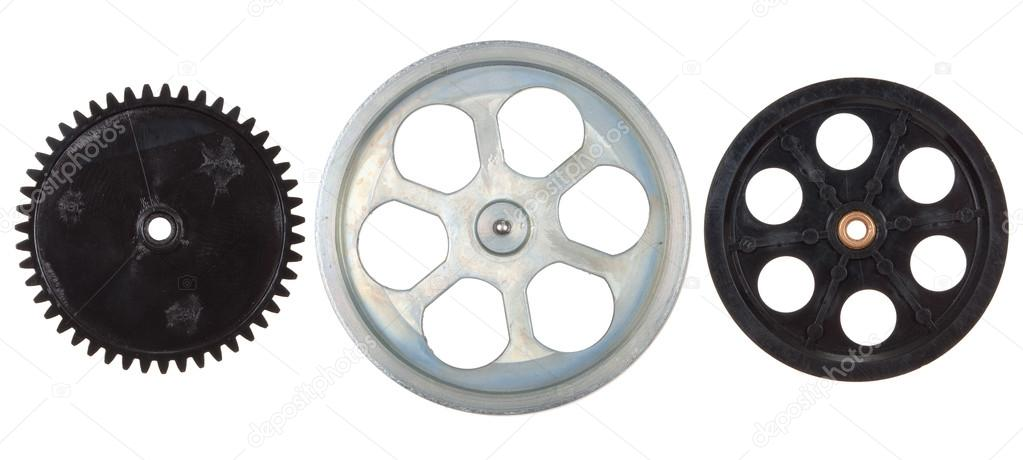Pulleys, gears — Stock Photo #13125402