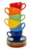 Pilha de xícaras de chá — Foto Stock