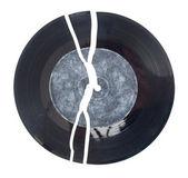 Gebroken vinyl — Stockfoto