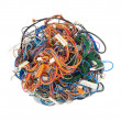 Stock Photo: Tangle of wires
