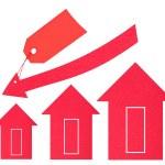 Housing market. Price drop — Stock Photo #13506370