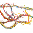 Stock Photo: Tangled wires