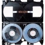 Open video cassette — Stock Photo