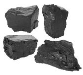 Coal set — Stock Photo