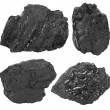 Foto de Stock  : Coal set