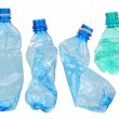 Stock Photo: Used plastic bottles