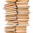 Stack of open books — Stock Photo #27120737
