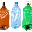 Used plastic bottles — Stock Photo #27121739