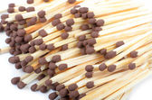 Group of matchstick. Macro — Stock Photo