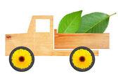 Eco car concept — Stock Photo