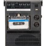 Vintage cassette tape recorder — Stock Photo #49406103