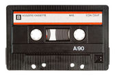 Old cassette tape — Stock Photo