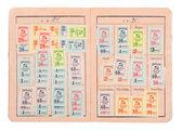 Soviet union card — Stock Photo