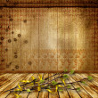 The old room. Grunge abstract background for a design. — Stock Photo #18221465