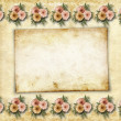 Stock Photo: Framework for a photo or congratulation. Abstract paper backgrou