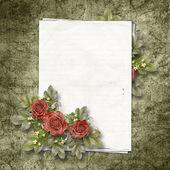 Vintage framework for a invitation or congratulation. — Stock Photo