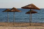 Playa al atardecer — Foto de Stock