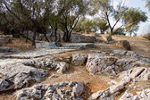 Road to Philopappos Monument near Acropolis — Stock Photo