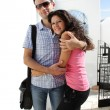 Couple do sightseeing in Athens — Stock Photo #17163557